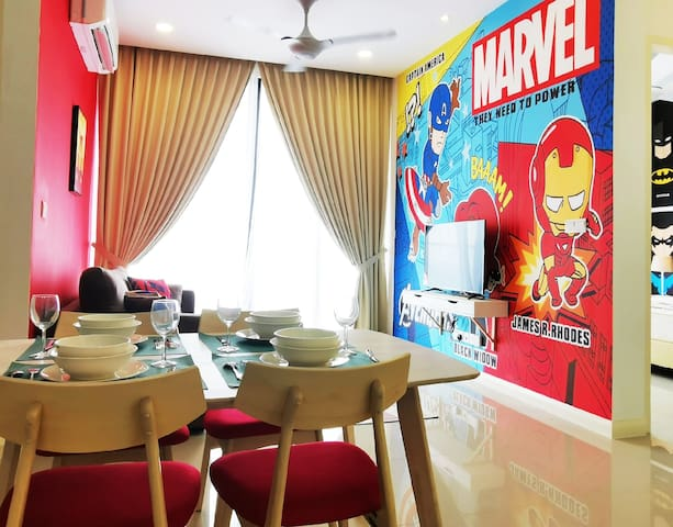 【1 Min to Legoland】HOLIDAY SALE!✪I21623 ✪Superhero