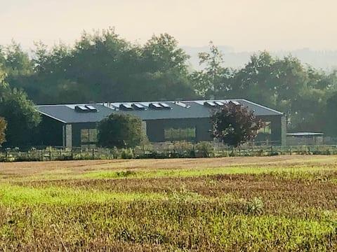 Stunning rural barn conversion near Sandwich