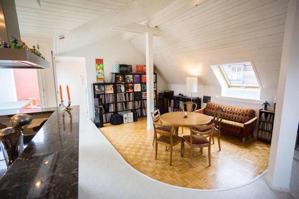 helles rooftop zimmer nahe bahnhof wohnungen zur miete in thun bern schweiz. Black Bedroom Furniture Sets. Home Design Ideas