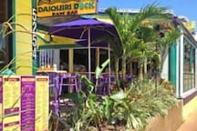 The Daiquiri Deck -  I love the electric lemonade