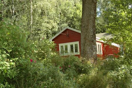 Cottage in quiet surroundings 35 min from Oslo
