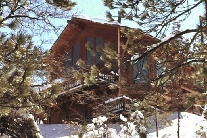 "The ""Aerie"" Cabin! Lake/Mtn VIEWS! Pet friendly"