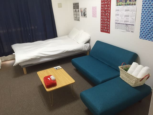 1min walk from EBISUCHO near Namba! - 大阪市 - Lejlighed