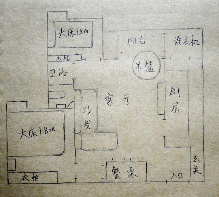 房源平面图