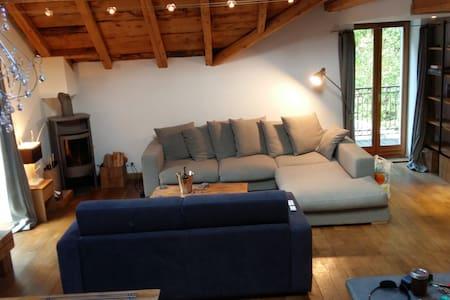 Appartement de Luxe avec Sauna au coeur du village - シャモニ