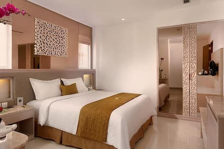 Stylish room in the heart of Kuta - Kuta - Hotel boutique
