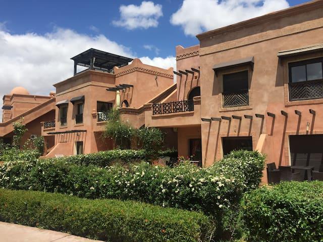 Appartement calme dans l'Atlas Golf Resort