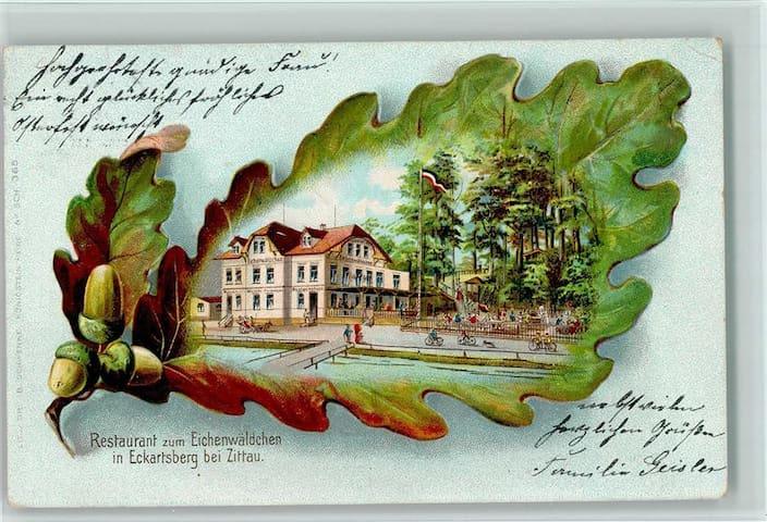 Haus mit einer Geschichte über 100 Jahre.