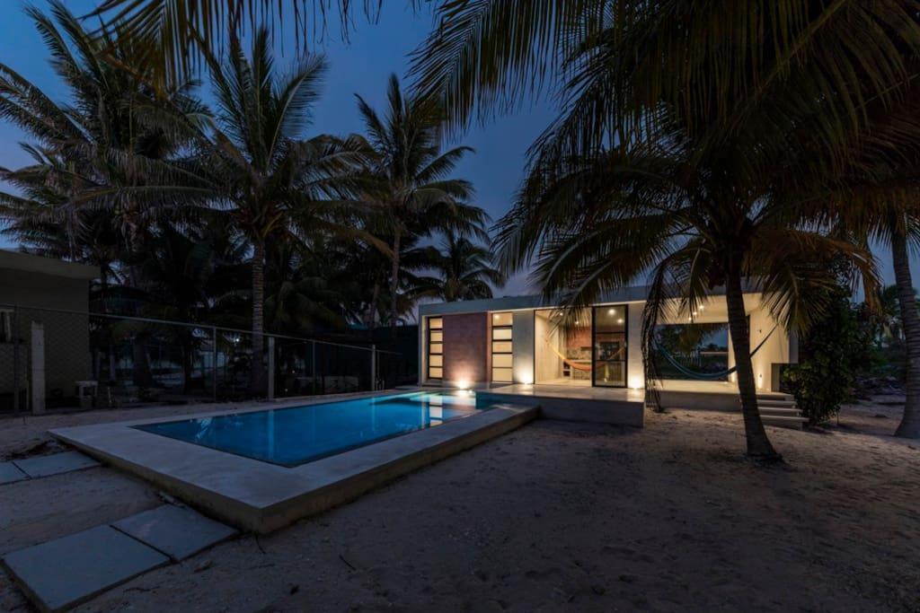 Hermosa casa en la playa para vacacionar