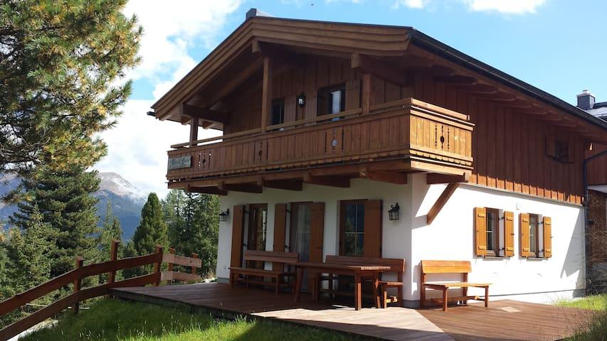 Haus Louise direkt an der Piste - Zillertal Arena - Hochkrimml - Dağ Evi