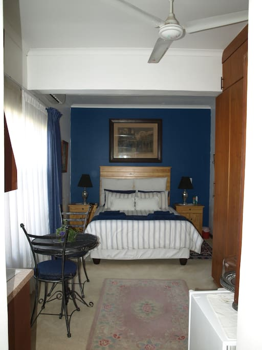 Room with East facing window