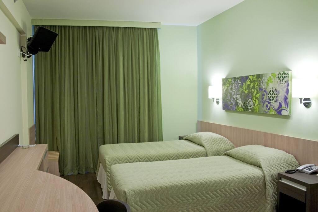 Studio Premium Twin (temos opção com 1 cama de casal).