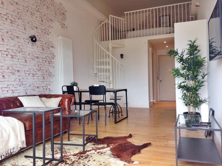 INDUSTRIAL style 2 floors loft