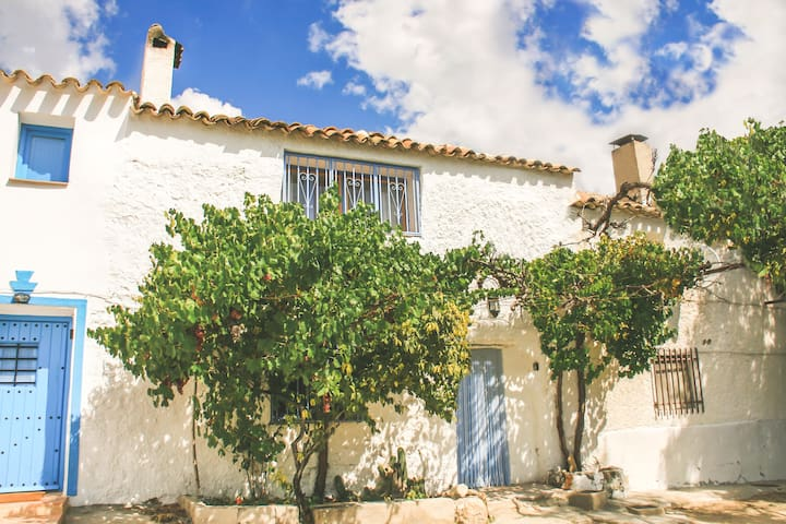 Quirky, lakeside cottage near Castril, Andalucia