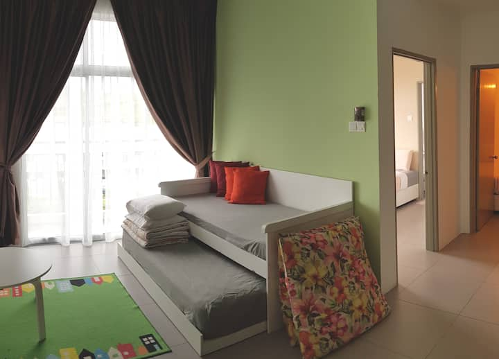 G Residence-2 Bedrooms Apartment@Night Market