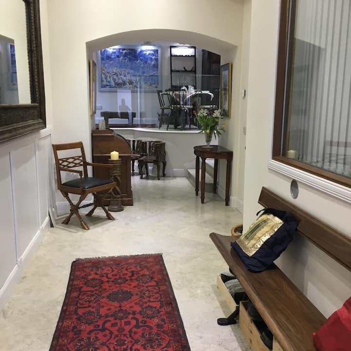 Cupar Haven.   Courtyard bedroom 1