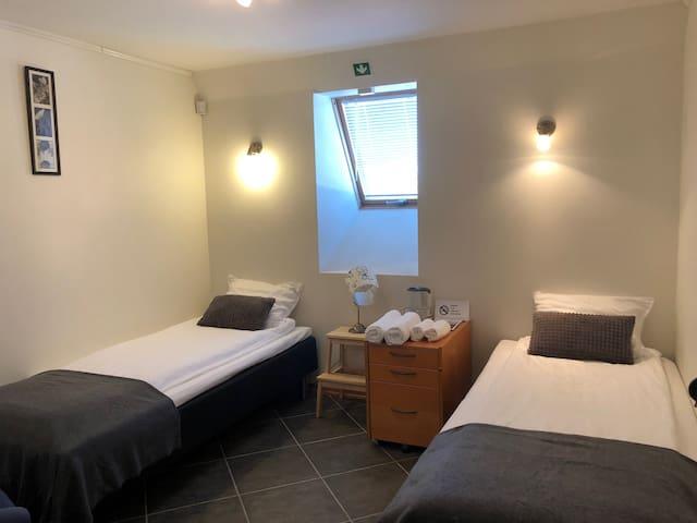 Lilla rummet- Modernt rum med faciliteter