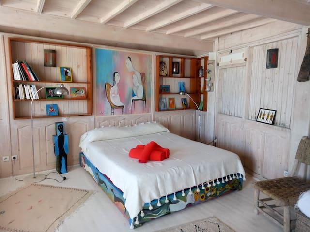 Appartement privé avec vue mer