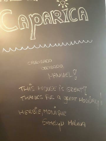 Message from on of our Guests