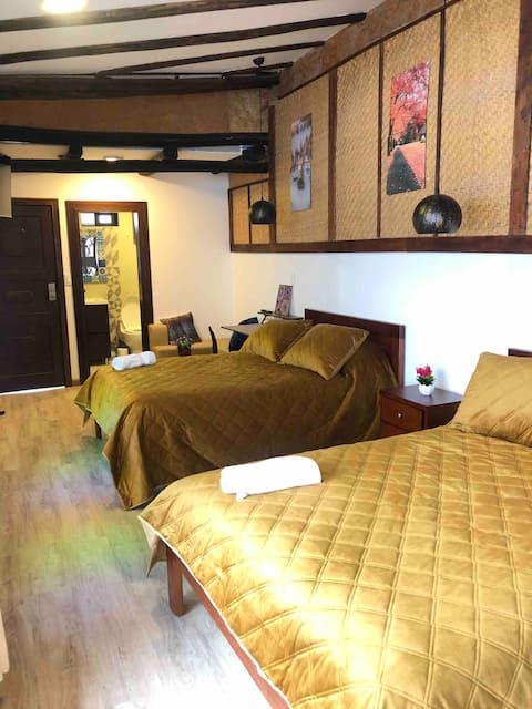Suite con horno de leña. Excelente ubicación