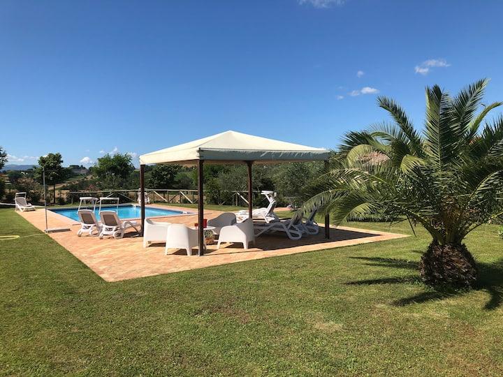 Casa San Pietro, restored with pool
