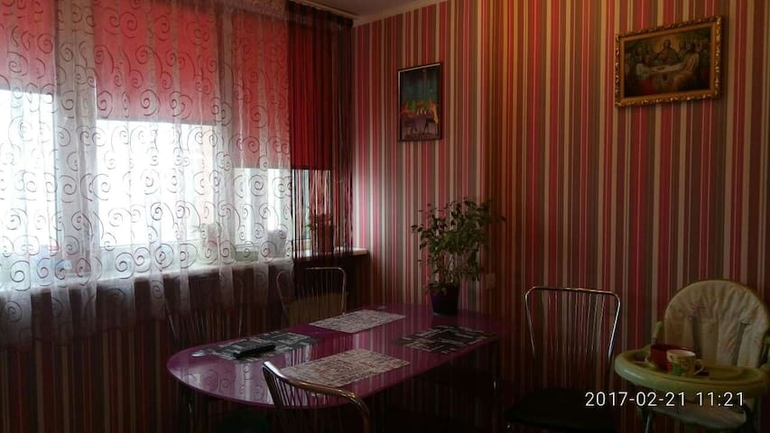 Уютная комната в спальном районе, 20 мин от метро)