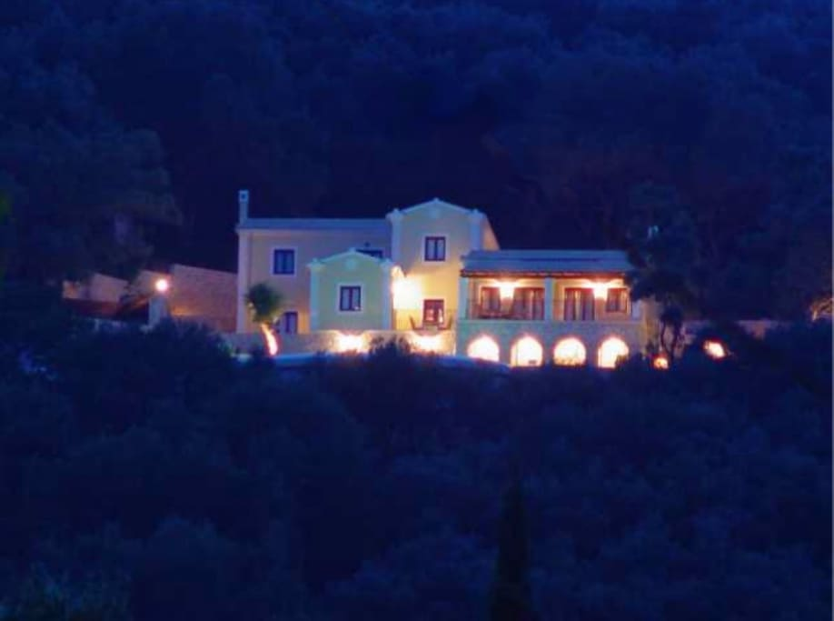 Maro at night as seen from Agios Stefanos