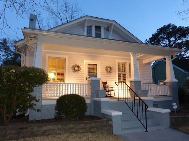 The French Bungalow - New Bern - Talo