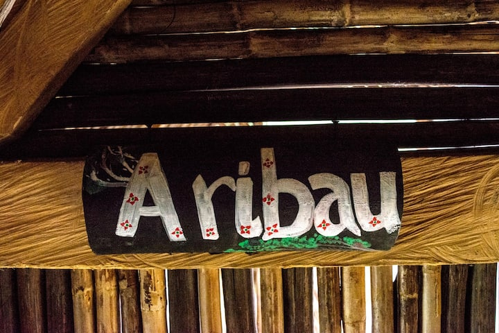 beautiful hut - kiosko tropical