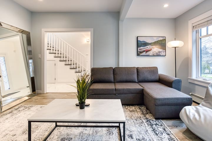 Gorgeous Main St. Home With A View Mins to DT &YVR