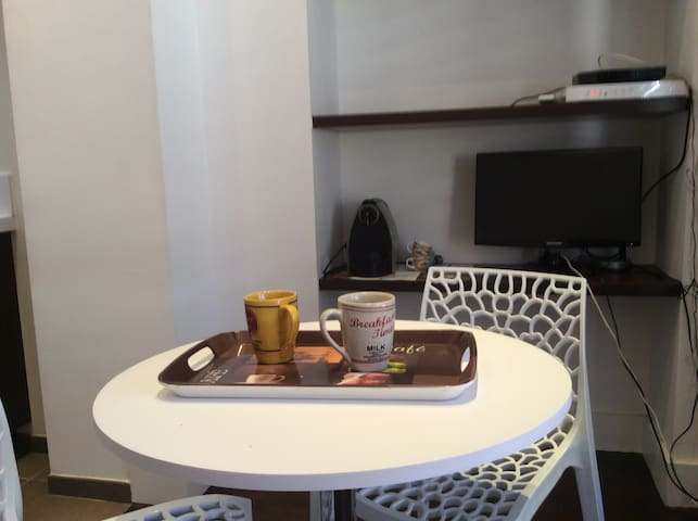 Dining area for 2