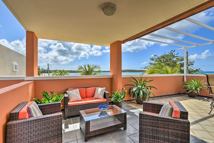 Fajardo Townhouse w/Private Pool & Ocean View
