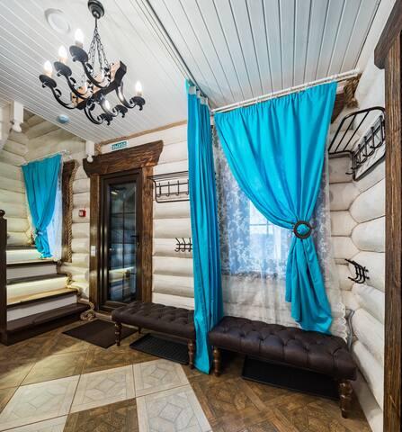 VIP коттедж с баней для семейного отдыха с детьми