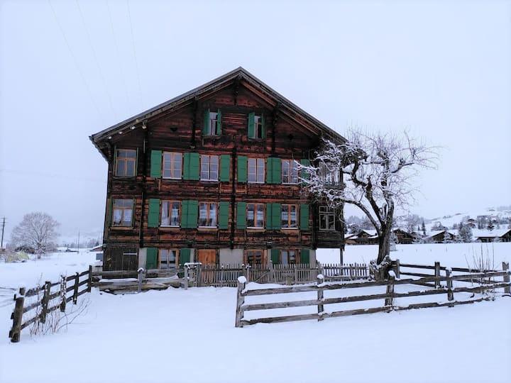 Ferienwohnung an ruhiger Lage nahe dem Dorfzentrum