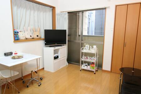 Loft Futon room@7min Tenjin Sta. - Fukuoka - Apartment