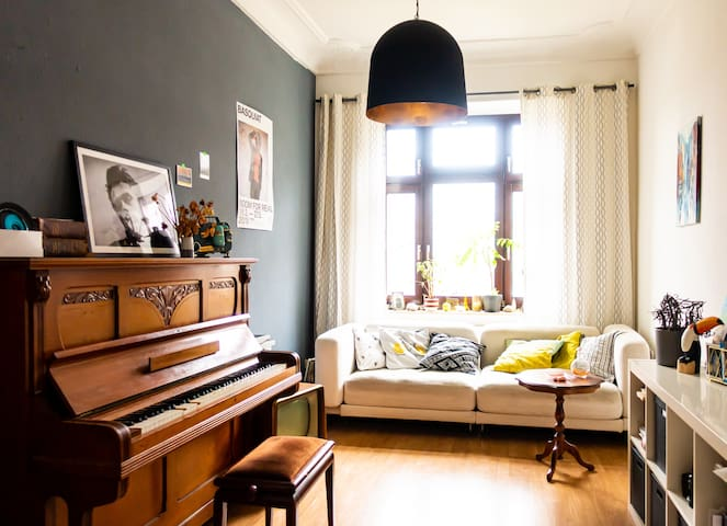 Cozy and colorful apartment in Plagwitz