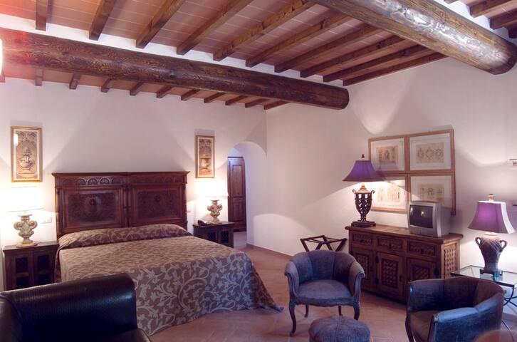 Camera con piscina condivisa nel Chianti - Barberino Val D'elsa - Bed & Breakfast