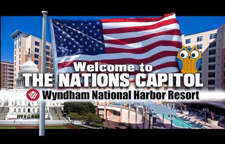 National Harbor ツ 3BR/2BA SLEEPS 10! Wyndham - Oxon Hill