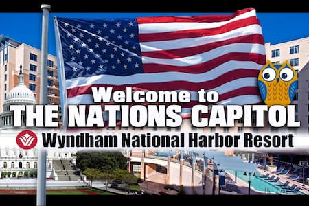 Wyndham National Harbor ツ 3BR/2BA Equipped Condo! - Wohnung