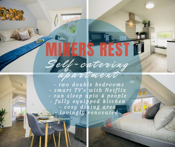 Miners Rest - Self Catering Two Bedroom Apartment
