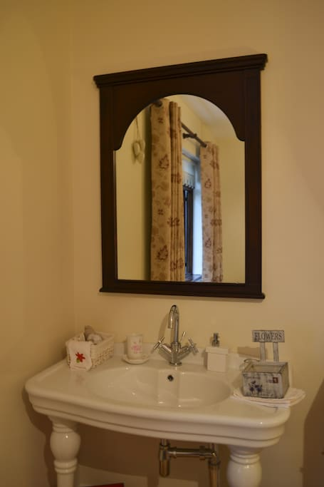 """""""New England"""" style sink and vanity"""