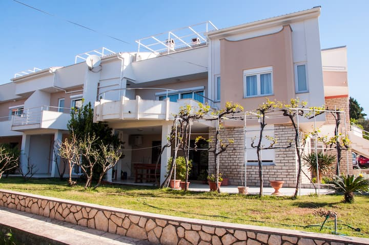 Apartment near centre for 2 in Novalja, Croatia