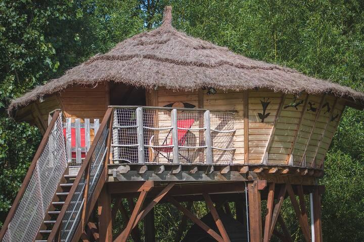 Une Cabane Perchée à 15 minutes du Zoo de Beauval