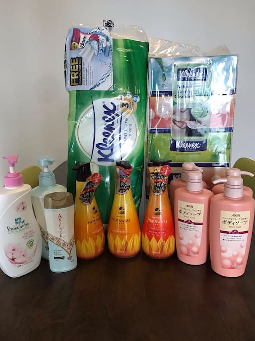 April body wash replenishment for my guests
