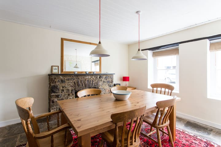 Simple luxury in Brecon Beacons village house