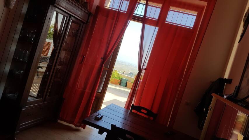 Chambre d hôte 2 pers.avec panorama du Golfe.