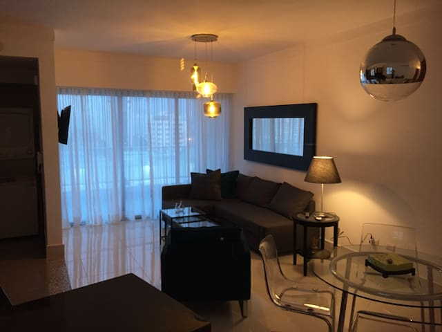 Real Chic Apt. with city and ocean view. Naco