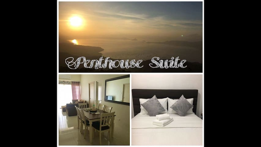 Large 3BR Penthouse Suite - Taal View in Tagaytay - Tagaytay City - Wohnung
