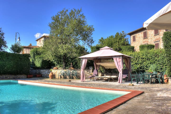 Villa in the heart of Tuscany, Chianti Classico. - Gaiole in Chianti - House