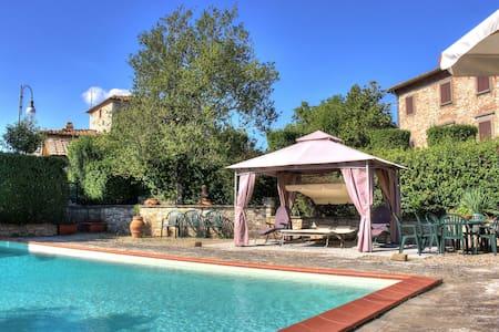 Villa in the heart of Tuscany, Chianti Classico. - Gaiole in Chianti - Casa